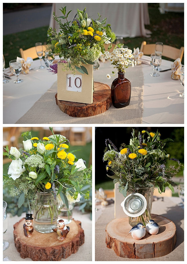Wedding centerpiece ideas swankyluv for Patio table centerpiece ideas
