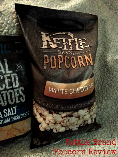 SwankyLuv: Snack Reviews: Kettle Brand Popcorn